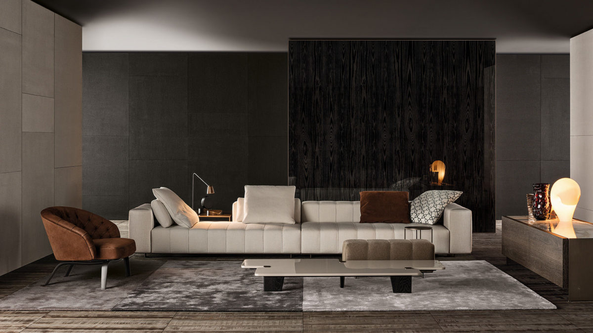 "Minotti Freeman ""Tailor"" Sofa"