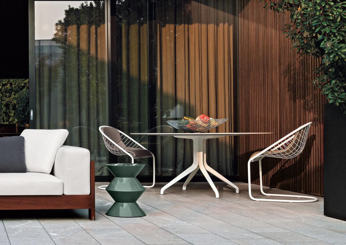 Minotti Cortina Chairs